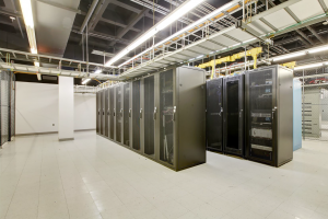 Data center servers at Oak Brook
