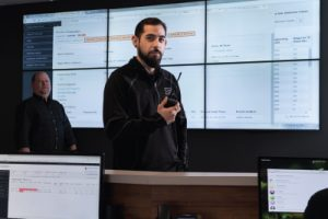 ServerFarm team inside the Network Operations Center (NOC)