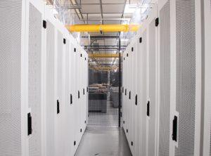 ServerFarm's Chicago data center hall