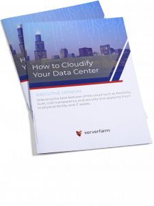Brochure titled how to cloudify your data center
