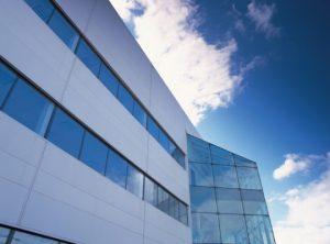 Outside view of ServerFarm's LON1 London data center