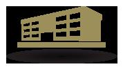 ServerFarm real estate building icon