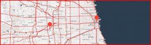 CH1 CH2 chicago data center map
