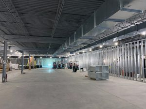 East Wall Shell Space Toronto