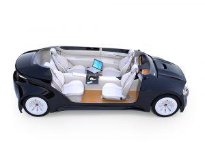 Futuristic Electric Car
