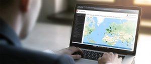 InCommand user viewing data center portfolio