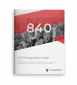 CH1 Chicago Data Center White Paper Single Booklet Cover Mockup