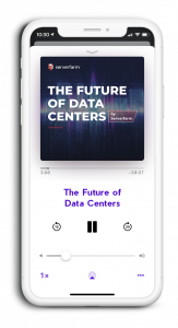 Future of Data Centers Podcast iPhone mockup