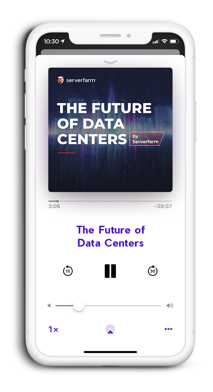 Future of Data Centers Podcast iPhone