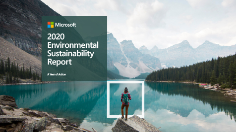 Microsoft 2020 Environmental Sustainability Report